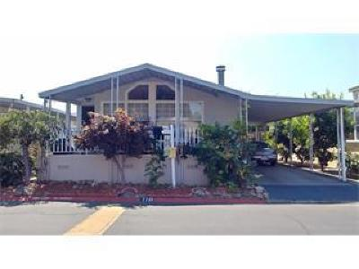Santa Clara County Mobile Home For Sale: 125 N Mary Ave 110