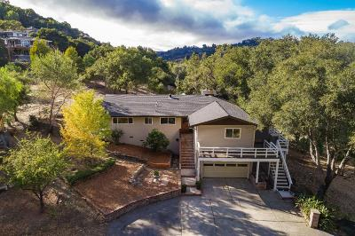 Redwood City Single Family Home For Sale: 558 Canyon Rd