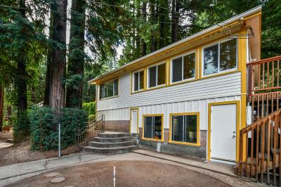 Ben Lomond Single Family Home Contingent: 130 Madrone Way