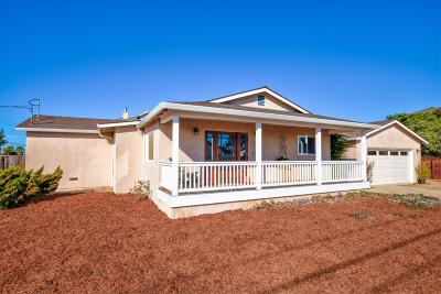 SEASIDE CA Single Family Home For Sale: $638,900