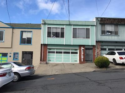 SAN FRANCISCO Single Family Home For Sale: 30 Hahn St