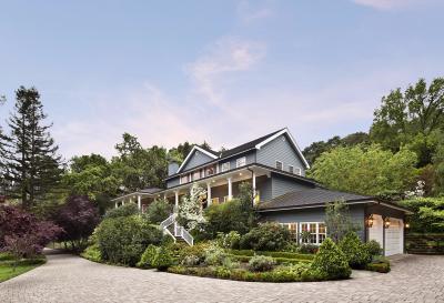 Woodside Single Family Home For Sale: 618 Manzanita Way