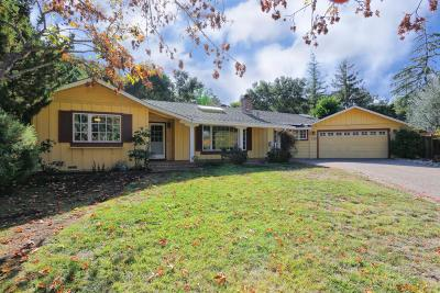 LOS GATOS Single Family Home For Sale: 130 Robin Way