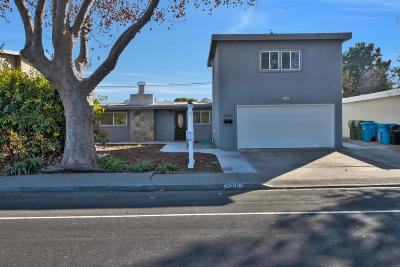 SANTA CLARA Single Family Home For Sale: 3318 Granada Ave