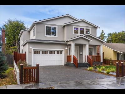 REDWOOD CITY Single Family Home For Sale: 1718 Hampton Ave