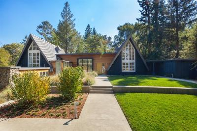 Portola Valley Single Family Home For Sale: 135 Willowbrook Dr