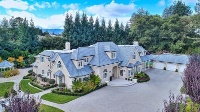 ATHERTON CA Single Family Home For Sale: $11,600,000