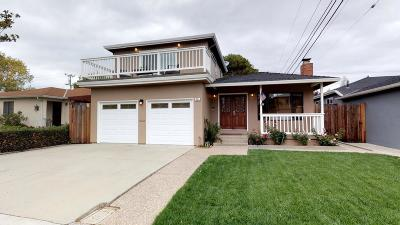 SAN MATEO Single Family Home For Sale: 405 Santa Clara Way