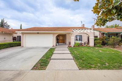 SAN JOSE Single Family Home For Sale: 4969 Chiles Dr