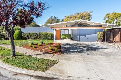 Sunnyvale Single Family Home For Sale: 1161 Ribier Ct