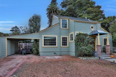 Santa Cruz County Single Family Home For Sale: 520 Walnut Ave
