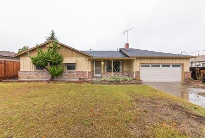 SANTA CLARA Single Family Home For Sale: 3411 Rayanna Ave