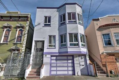 SAN FRANCISCO Single Family Home For Sale: 969-971 Shotwell St