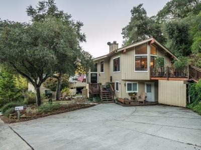 SCOTTS VALLEY CA Single Family Home Contingent: $825,000