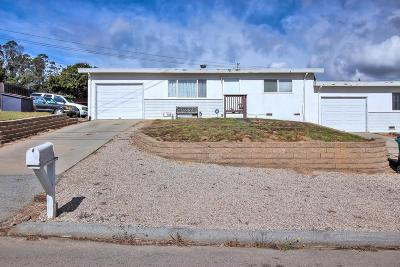 SALINAS Single Family Home For Sale: 17801 Pesante Rd