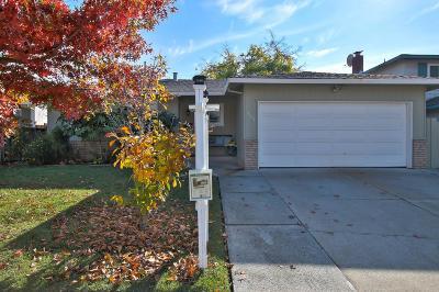 Milpitas Single Family Home For Sale: 1564 Portola Dr