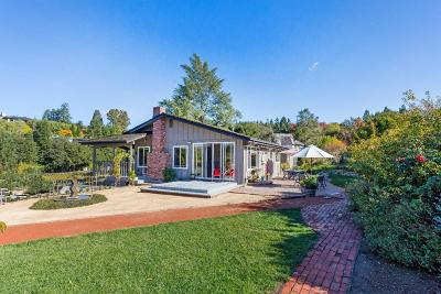 LOS ALTOS HILLS CA Single Family Home For Sale: $3,199,000