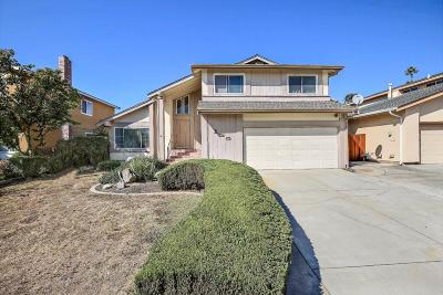 SAN JOSE Single Family Home For Sale: 125 Cadwell Ct