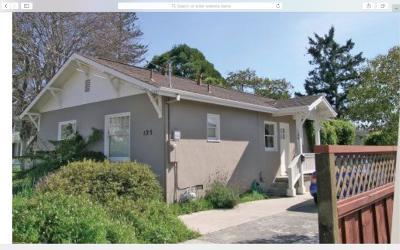 Santa Cruz Single Family Home For Sale: 125 Cowell St