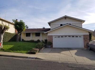 MILPITAS Single Family Home For Sale: 2246 Bliss Ave