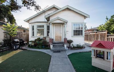 SAN JOSE Single Family Home For Sale: 1221 Mastic St