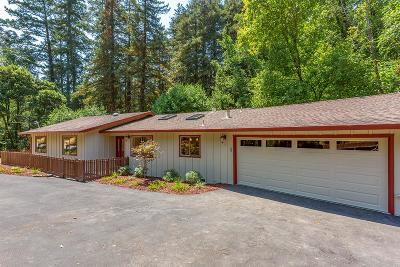 SANTA CRUZ CA Single Family Home For Sale: $850,000