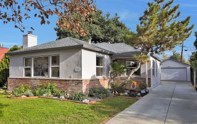 SAN JOSE Single Family Home Contingent: 1208 Prevost St