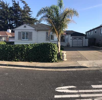 South San Francisco Single Family Home For Sale: 421 Northwood Dr