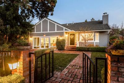 BURLINGAME Single Family Home For Sale: 1125 Oxford Rd