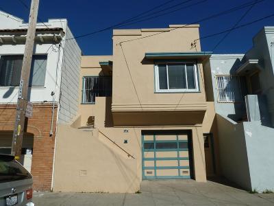 SAN FRANCISCO Single Family Home For Sale: 56 Arleta Ave