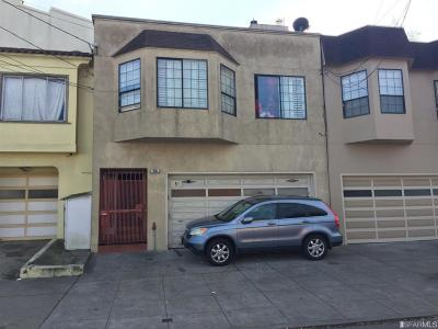 SAN FRANCISCO Multi Family Home For Sale: 395 London St