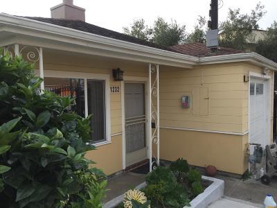 Single Family Home For Sale: 1232 Hillside Blvd