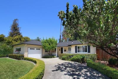SAN JOSE Single Family Home For Sale: 658 S Daniel Way