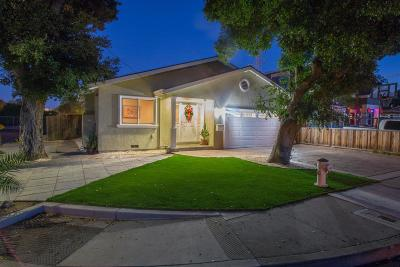 Sunnyvale Single Family Home For Sale: 396 Bartlett Ave