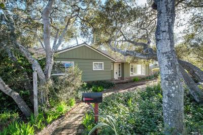 MONTEREY CA Single Family Home Contingent: $899,000
