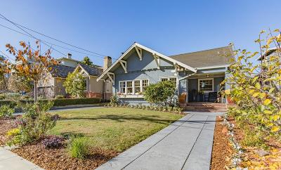 Burlingame Single Family Home For Sale: 1552 Ralston Ave