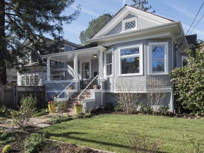 Palo Alto Single Family Home For Sale: 781 Channing Ave