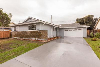 SANTA CLARA Single Family Home For Sale: 2356 Roosevelt Cir