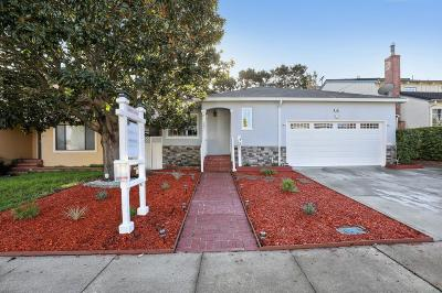 MILLBRAE Single Family Home Contingent: 503 Anita Ln