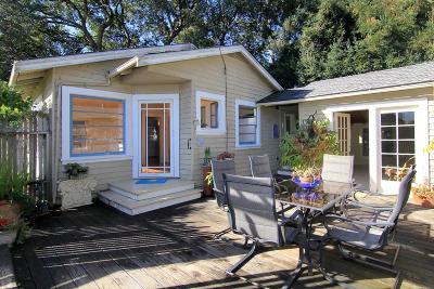 Santa Cruz Single Family Home For Sale: 417 Buena Vista Ave