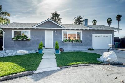 Santa Cruz Single Family Home For Sale: 1330 Brommer Way