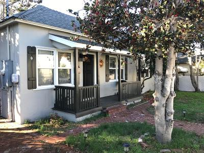 Monterey Single Family Home For Sale: 60 Park Ave