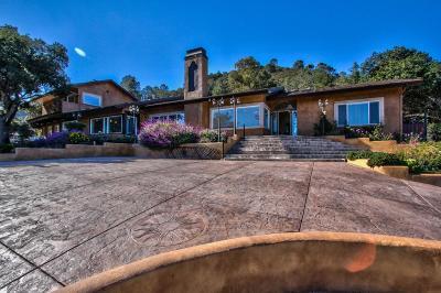 SALINAS Single Family Home For Sale: 209 Pine Canyon Rd