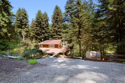 Santa Cruz Single Family Home For Sale: 2785 Smith Grade