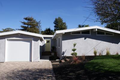 Pacific Grove Single Family Home For Sale: 1109 Patterson Ln