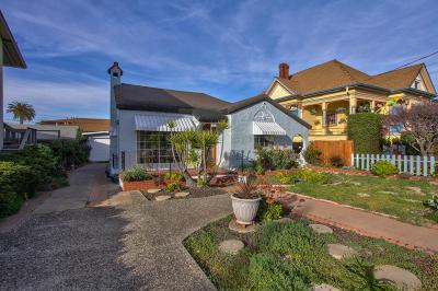 Monterey Single Family Home For Sale: 1221 7th St