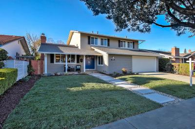 SAN JOSE Single Family Home For Sale: 1623 Glenfield Dr