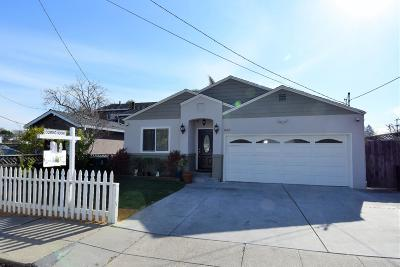 Redwood City Single Family Home For Sale: 659 Oak Ave