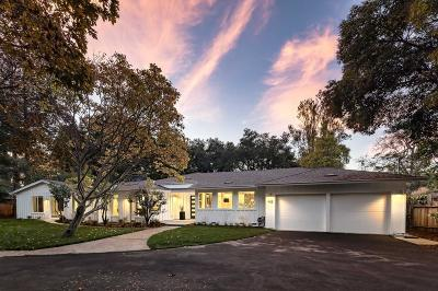 MENLO PARK Single Family Home For Sale: 455 Santa Margarita Ave