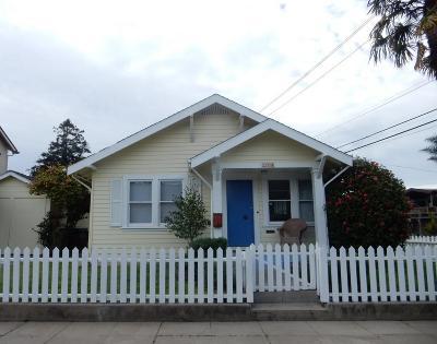 Santa Cruz Single Family Home For Sale: 259 3rd Ave